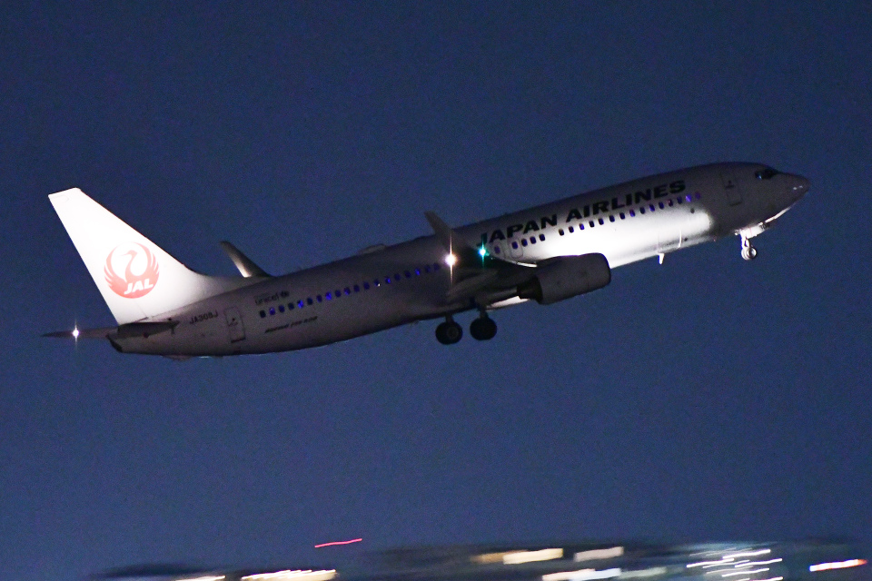 TOPAZ102さんの日本航空 Boeing 737-800 (JA308J) 航空フォト