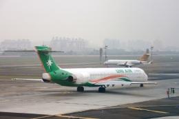 S.Hayashiさんが、高雄国際空港で撮影した立栄航空 MD-90-30の航空フォト(飛行機 写真・画像)