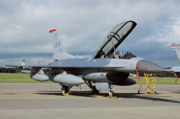 woodpeckerさんが、松島基地で撮影したアメリカ空軍 F-16DM-50-CF Fighting Falconの航空フォト(飛行機 写真・画像)