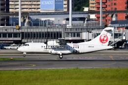 T.Sazenさんが、伊丹空港で撮影した日本エアコミューター ATR 42-600の航空フォト(飛行機 写真・画像)