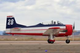 キャスバルさんが、ミラマー海兵隊航空ステーション で撮影したアメリカ個人所有 T-28B Trojanの航空フォト(飛行機 写真・画像)