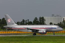 かっちゃん✈︎さんが、成田国際空港で撮影したチェコ空軍 A319-115CJの航空フォト(飛行機 写真・画像)