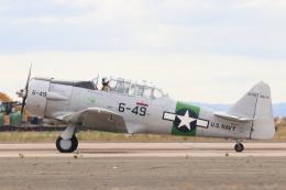キャスバルさんが、ミラマー海兵隊航空ステーション で撮影したAMERICAN AIRPOWER HERITAGE FLYING MUSEUM INC T-6D Texanの航空フォト(飛行機 写真・画像)