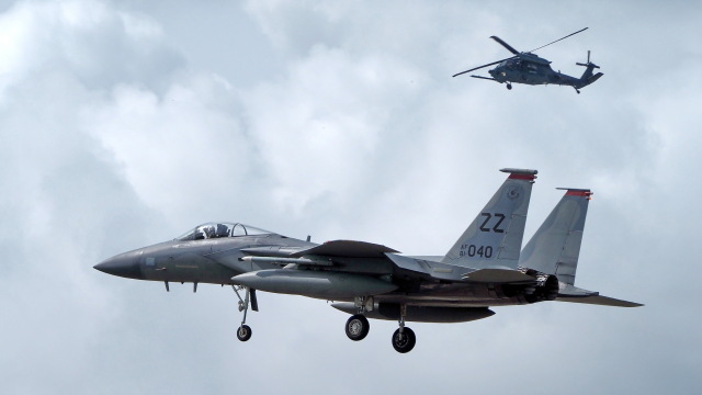 ららぞうさんが、千歳基地で撮影したアメリカ空軍 F-15C-31-MC Eagleの航空フォト(飛行機 写真・画像)