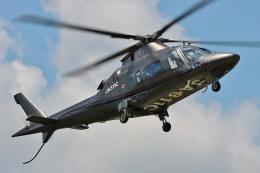ブルーさんさんが、静岡ヘリポートで撮影した日本法人所有 A109E Powerの航空フォト(飛行機 写真・画像)