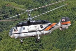 ブルーさんさんが、静岡ヘリポートで撮影したアカギヘリコプター Ka-32A11BCの航空フォト(飛行機 写真・画像)