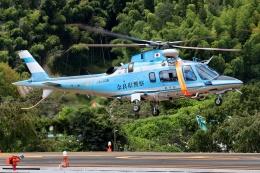 ブルーさんさんが、静岡ヘリポートで撮影した奈良県警察 A109E Powerの航空フォト(飛行機 写真・画像)