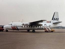 twinengineさんが、オスロ国際空港で撮影したスカンジナビアン・コミューター F27の航空フォト(飛行機 写真・画像)