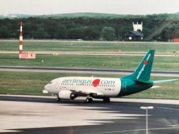 twinengineさんが、フランクフルト国際空港で撮影したエア・リンガス 737-548の航空フォト(飛行機 写真・画像)