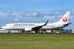 ズイ₍₍ง˘ω˘ว⁾⁾ズイさんが、鹿児島空港で撮影した日本航空 737-846の航空フォト(飛行機 写真・画像)