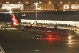Sharp Fukudaさんが、羽田空港で撮影したエアアジア・エックス A330-343Xの航空フォト(飛行機 写真・画像)