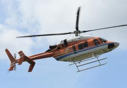 チャーリーマイクさんが、東京ヘリポートで撮影した新日本ヘリコプター 427の航空フォト(飛行機 写真・画像)