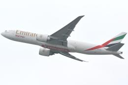 jun☆さんが、香港国際空港で撮影したエミレーツ航空 777-F1Hの航空フォト(飛行機 写真・画像)