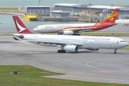jun☆さんが、香港国際空港で撮影したキャセイドラゴン A330-342の航空フォト(飛行機 写真・画像)