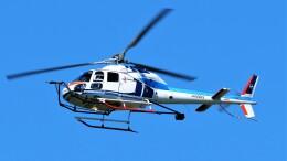 hidetsuguさんが、札幌飛行場で撮影した中日本航空 AS355F2 Ecureuil 2の航空フォト(飛行機 写真・画像)