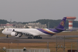 木人さんが、成田国際空港で撮影したタイ国際航空 A340-642の航空フォト(飛行機 写真・画像)