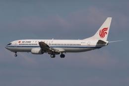 木人さんが、成田国際空港で撮影した中国国際航空 737-808の航空フォト(飛行機 写真・画像)