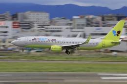 aki241012さんが、福岡空港で撮影したジンエアー 737-8SHの航空フォト(飛行機 写真・画像)