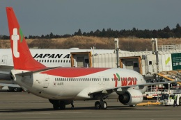S.Hayashiさんが、成田国際空港で撮影したティーウェイ航空 737-8ASの航空フォト(飛行機 写真・画像)