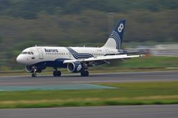 Souma2005さんが、成田国際空港で撮影したオーロラ A319-111の航空フォト(飛行機 写真・画像)