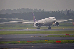 Souma2005さんが、成田国際空港で撮影したタイ国際航空 777-3AL/ERの航空フォト(飛行機 写真・画像)