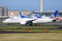 ▲®さんが、羽田空港で撮影したユナイテッド航空 787-9の航空フォト(飛行機 写真・画像)