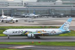 かっちゃん✈︎さんが、羽田空港で撮影したAIR DO 767-381の航空フォト(飛行機 写真・画像)