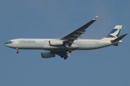 Deepさんが、成田国際空港で撮影したキャセイパシフィック航空 A330-342の航空フォト(飛行機 写真・画像)