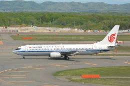 Deepさんが、新千歳空港で撮影した中国国際航空 737-86Nの航空フォト(飛行機 写真・画像)
