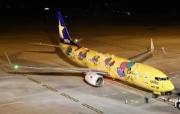 蒼くまさんが、神戸空港で撮影したスカイマーク 737-8ALの航空フォト(飛行機 写真・画像)
