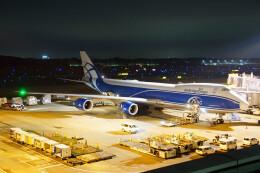 ちゃぽんさんが、成田国際空港で撮影したエアブリッジ・カーゴ・エアラインズ 747-8HVFの航空フォト(飛行機 写真・画像)