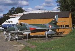 JAパイロットさんが、Brooklands Museumで撮影したデンマーク空軍 Hunter F.51の航空フォト(飛行機 写真・画像)