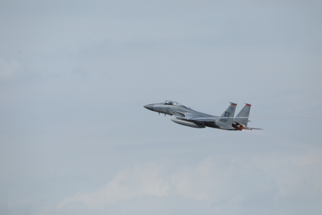 kitano-kituneさんが、千歳基地で撮影したアメリカ空軍 F-15C-31-MC Eagleの航空フォト(飛行機 写真・画像)