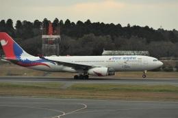 エルさんが、成田国際空港で撮影したネパール航空 A330-243の航空フォト(飛行機 写真・画像)