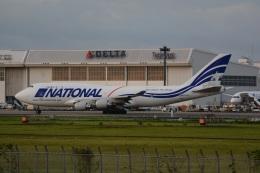 LEGACY-747さんが、成田国際空港で撮影したナショナル・エアラインズ 747-412(BCF)の航空フォト(飛行機 写真・画像)