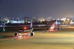 aki241012さんが、福岡空港で撮影したスターフライヤー A320-214の航空フォト(飛行機 写真・画像)