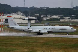 hiroki_h2さんが、嘉手納飛行場で撮影したアメリカ空軍 E-3C Sentry (707-300)の航空フォト(飛行機 写真・画像)
