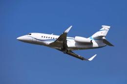 とらまるさんが、名古屋飛行場で撮影したフジビジネスジェット Falcon 2000EXの航空フォト(飛行機 写真・画像)