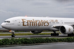M.Tさんが、関西国際空港で撮影したエミレーツ航空 777-36N/ERの航空フォト(飛行機 写真・画像)