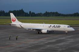 神宮寺ももさんが、鹿児島空港で撮影したジェイエア ERJ-190-100(ERJ-190STD)の航空フォト(飛行機 写真・画像)