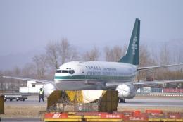 磐城さんが、北京首都国際空港で撮影した中国郵政航空 737-341(QC)の航空フォト(飛行機 写真・画像)