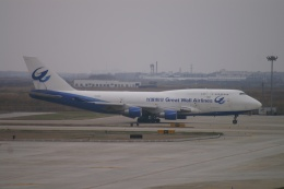 磐城さんが、上海浦東国際空港で撮影した長城航空 747-412(BCF)の航空フォト(飛行機 写真・画像)