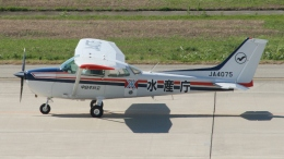 航空見聞録さんが、神戸空港で撮影した中日本航空 172P Skyhawk IIの航空フォト(飛行機 写真・画像)