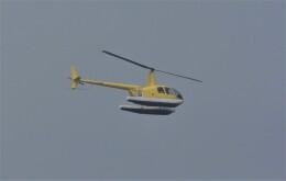 kumagorouさんが、仙台空港で撮影した日本個人所有 R44 Clipper IIの航空フォト(飛行機 写真・画像)