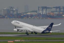 North1973さんが、羽田空港で撮影したルフトハンザドイツ航空 A340-313Xの航空フォト(飛行機 写真・画像)