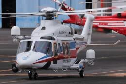 KAZFLYERさんが、東京ヘリポートで撮影した国土交通省 地方整備局 AW139の航空フォト(飛行機 写真・画像)