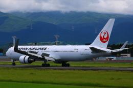Zakiyamaさんが、熊本空港で撮影した日本航空 767-346/ERの航空フォト(飛行機 写真・画像)