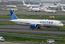 チャレンジャーさんが、羽田空港で撮影したユナイテッド航空 787-9の航空フォト(飛行機 写真・画像)