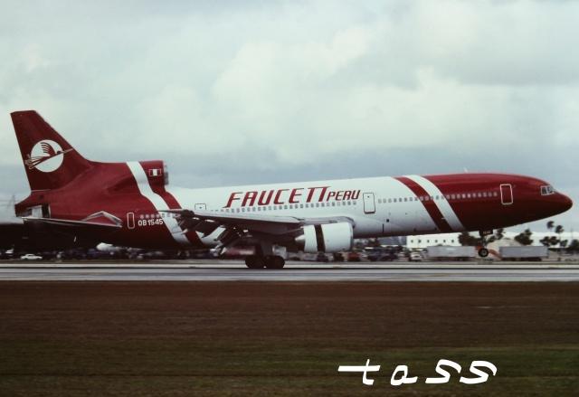 tassさんが、マイアミ国際空港で撮影したファウセット L-1011-385-1 TriStar 50の航空フォト(飛行機 写真・画像)