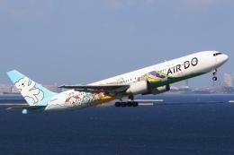 Hiro-hiroさんが、羽田空港で撮影したAIR DO 767-381の航空フォト(飛行機 写真・画像)